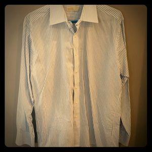 NWOT, Michael Kors, Men's, Button-Down, Shirt